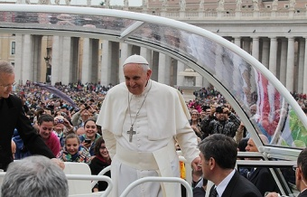 Being a Christian means belonging to the Church, Pope affirms